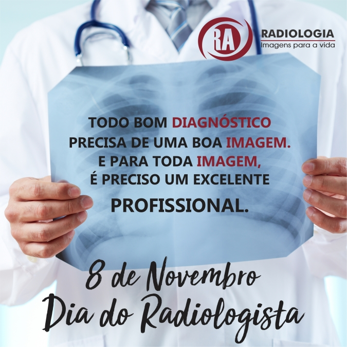 Feliz Dia do Radiologista!